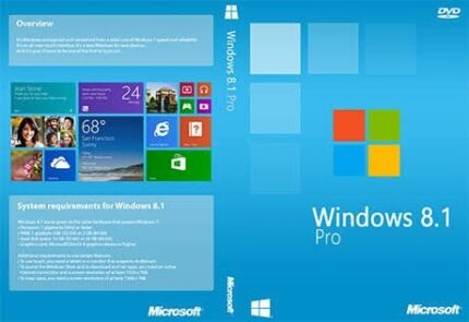 Windows Installation 8.1 Pro Registered