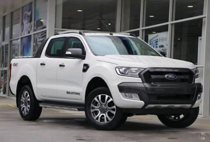 Ford Wildtrak Ranger 18inch wheels and tyres.