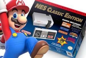 REPLICA NES MINI CLASSIC INCLUDES CONTROL 30 GAMES Hallam Casey Area Preview