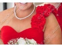 Plus size prom dress // bridesmaid dress