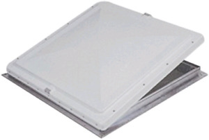 """Camper RV Hengs 90014-C1 Opaque white 26""""×26"""" vent lid NEW!"""