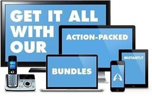 $115 Unlimited High Speed Internet & HD TV & Phone Bundle