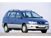 wanted peugeot 206 307 406 automatic petrol and nissan almera up to 1999 toyota picnic petrol models