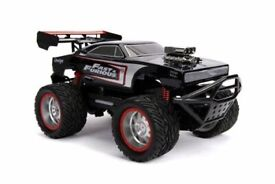 NEW Jada FF Elite 1970 Dodge Charger Remote Control Car replica from Fast & Furious