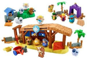 I WAS WONDERING IF ANYONE HAD A LITTLE PEOPLE NATIVITY SET