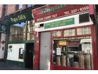Resturant/Takeaway Lease For Sale