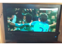 "Polaroid - 37"" Definia Widescreen HD Ready LCD TV Freeview , Sky Box, & DVD Player"