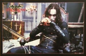 "Brandon Lee ""The Crow"" Poster"