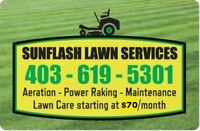 Full Spring Clean ups for your lawn!