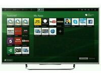 """SONY 40""""smart ANDROID wifi tv HD freeview freesat Fully hd 1080p"""