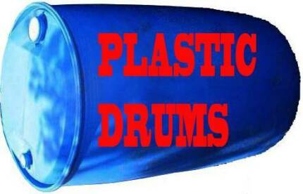 Blue Plastic 205 Litre Drum North Toowoomba Toowoomba City Preview