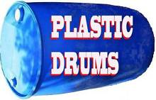 Blue Plastic 205 Litre Drum Warwick Southern Downs Preview