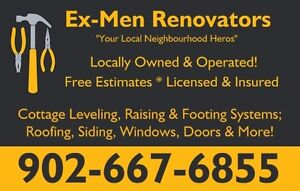 Your Local Neighbourhood Heros ~ EX-Men Renovators