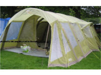 Vango Airbeam Inspire 600 6 Man Inflatable Tent