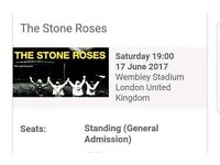 Stone Roses Ticket Wembley
