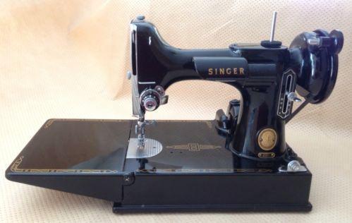 Singer Featherweight Machines EBay Gorgeous Featherlite Sewing Machine Pink