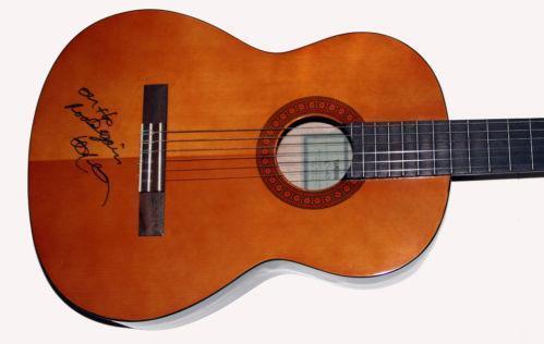 Willie Nelson Signed Guitar Ebay