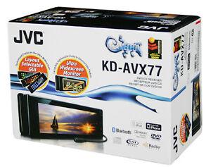 jvc kd avx77 5 in dash car audo touchscreen cd dvd. Black Bedroom Furniture Sets. Home Design Ideas