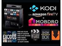 Brand new jailbroken firestick with voice evrything u need for all streaming needs