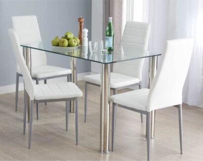 Used 5pc Fantastic Furniture Dining Setting. Fantastic furniture sale   Dining Tables   Gumtree Australia