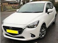2 years old white Mazda2 1.5 SE-L NAV 5dr
