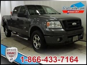 2007 Ford F-150 FX4, CLEAROUT PRICE, Leather, Moonroof, Tonneau