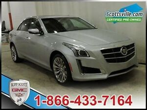 2014 Cadillac CTS 2.0L Turbo Luxury, Leather, Navigation