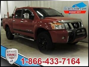 2012 Nissan Titan SL, CLEAROUT PRICE, Leather, Navigation, Lifte
