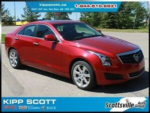 2014 Cadillac ATS 2.0T, Leather, Sunroof, 1 Owner, Remote Start