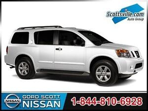 2013 Nissan Armada Platinum, Leather, Sunroof, Loaded!