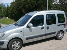 Renault KANGOO AUTHENTIQUE A 1.6 Auto Wheelchair Accessible Vehicle include rear ramp