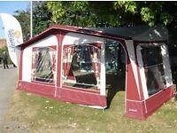 Apache caravan awning