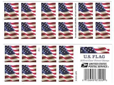 Book of 20 Forever US Postal Stamps