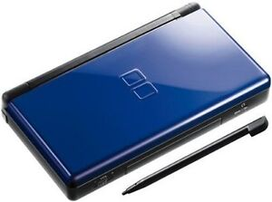 Blue DS Lite With Charger and Case