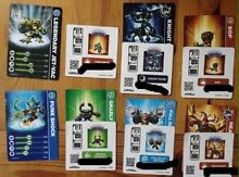 Skylanders cards,sticker codes Blayney Blayney Area Preview