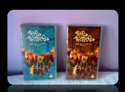 THE TRIBE TV SERIES - VHS TAPES (2) - FOR SALE.