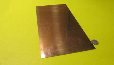 510 Phosphor Bronze Sheet .032 -.004 Thick X 6.0 Wide X 12.0 Length