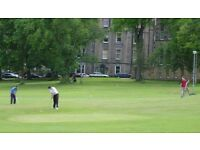 WANTED: GOLFING PALS, to play FREE Bruntsfield Links Golf Course together.