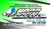 HOOD DOCTOR LOOKING FOR COMMERCIAL RESTAURANTS TO CLEAN