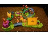Winnie the pooh adventure play set