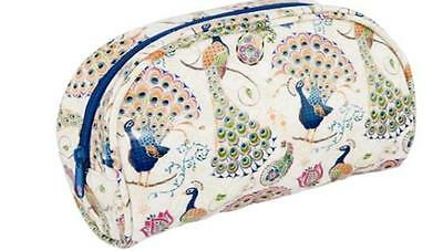Ashdene Australia Peacock Fantasy Vinyl Cosmetic Make Up Bag  NWT 45226