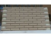13 BRICK-TILE-PANELS Antic cream / white, Hand molding ref. DF692