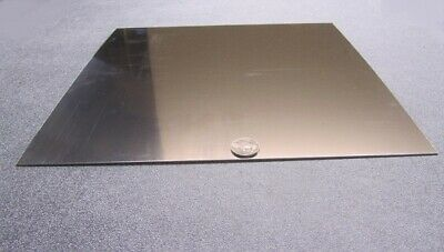 316 Stainless Steel Sheet Annealed .036 Thick X 12 Wide X 12 Length 1 Unit