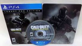 Call of duty: Infinite Warfare Legacy Pro edition Steelbook PS4