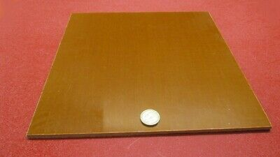 Garolite Micarta Canvas Phenolic Ce Sheet .250 14 Thick X 12 X 12