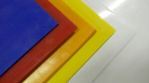4' x 8'  PUCKBOARD MULTIPLE COLOURS AND THICKNESSES