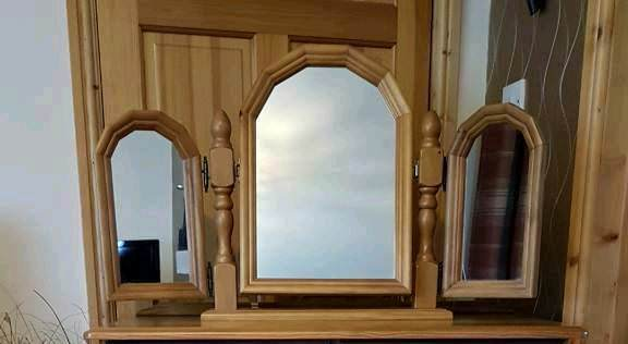 Dressing Table 3 Way Mirror (Mirror only)