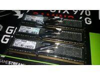 12GB DDR3 12800 Platinum 1600MHz RAM Memory