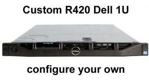 "Dell PowerEdge R420 1U Server Custom Configuration (4x 3.5"" HD Server)"