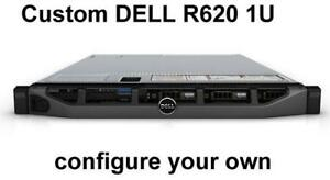 Dell PowerEdge R620 1U Server Custom Configuration